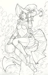 Banniv-Witch of Twilight by LCFreitas