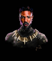 Killmonger by JoaoAlvarenga4