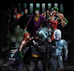 Batman Vs Arkham by JoaoAlvarenga4