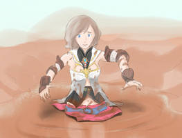 Princess Ashe in Quicksand by Silkyfriction