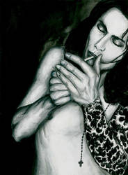 Ville Valo by Sass-Haunted