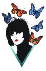 Siouxsie and  the... Butterflies xD by Sass-Haunted