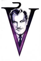 Just hanging out with a ghost of Vincent Price by Sass-Haunted