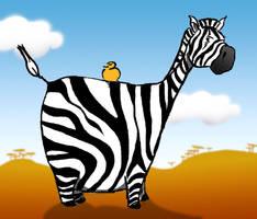 zebra by floflo
