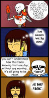 Getting People to Open Up (Undertale spoilers) by StephOBrien