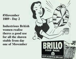 Movember #2 by Sableyes