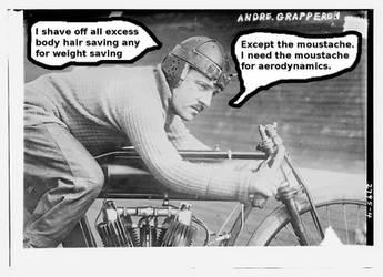 Movember #5 by Sableyes