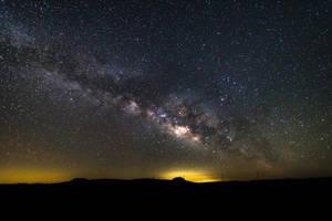 Milky Way - Mason, TX by JMcColgan