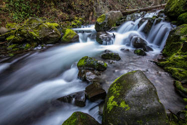 Dutchman Falls, OR by JMcColgan