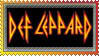 Def Leppard Stamp by Shadyufo