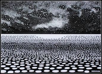 Towards the Starlit Horizon by PENANDINKDRAWINGS