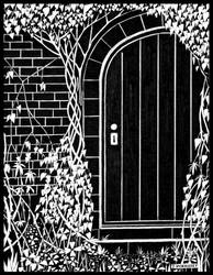 The Door in the Wall by PENANDINKDRAWINGS