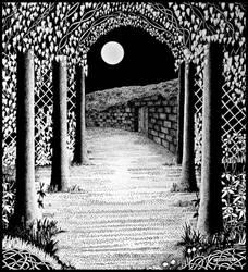 Moonlight Dream by PENANDINKDRAWINGS