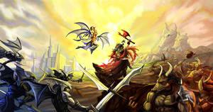 Epic Duel WIP by DreadJim