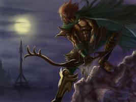 Elven Hero Isgara Dearthy by DreadJim
