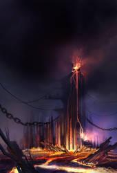 Volcano City by DreadJim
