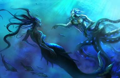Mermen Legends by DreadJim
