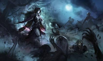 Queen of Undeath by DreadJim