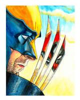 Haun Deadpool Wolverine Sketch by JohnHaunLE