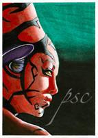Star Wars Darth Talon Sketch by JohnHaunLE