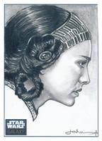 Natalie Portman haun Sketch by JohnHaunLE