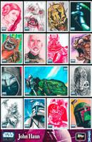 Star Wars Galaxy 6 sketch HAUN by JohnHaunLE