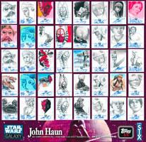 JOHN HAUN SKETCHAGRAPHS by JohnHaunLE