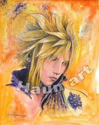 Final Fantasy CLOUD DEV by JohnHaunLE