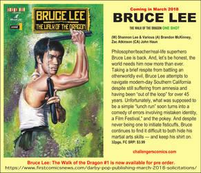 bruce lee John Haun Cover Art by JohnHaunLE