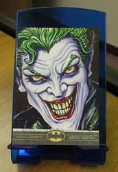 Joker Sketch Card by JohnHaunLE