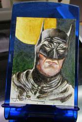 BATMAN Portrait oil painting by JohnHaunLE