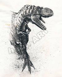 JOHN HAUN INK SKETCH by JohnHaunLE