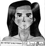 Self-Portrait and Male Persona (2015)...xD by JoshBeta1
