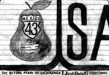 The biting pear of Salamanca goes to Morelia. xD by JoshBeta1
