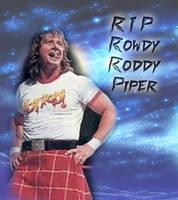 RIP Rowdy Roddy Piper by scrik