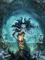 Dungeon and Dragons: Underdark by boudicca