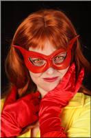 Firestar costume by Alyssa-Ravenwood