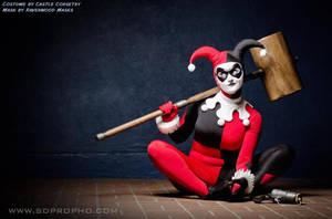 Harley Quinn cosplay by Alyssa-Ravenwood