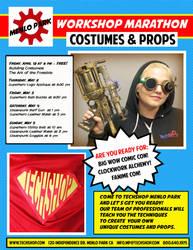 Costumes and Props Workshop Marathon at TechShop by Alyssa-Ravenwood