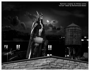 Huntress cosplay by Alyssa-Ravenwood