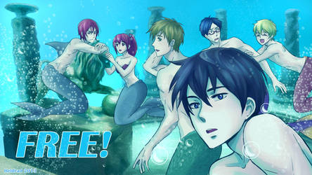 Free! Fanart by Heldrad