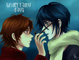 Under Rainy Days fanart by Heldrad