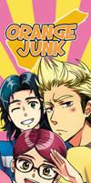 Orange Junk promo banner by Heldrad
