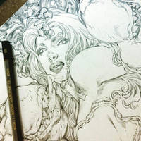Coming soon, Poison Ivy BURNING! Download Limited! by renatocamilo