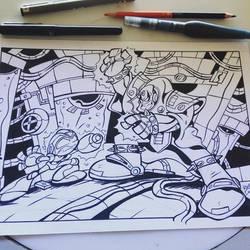 Megaman X VS by Briosso