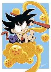 Chibi_Goku by Briosso