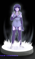 Commission: Hinata - Cortana by Pia-sama