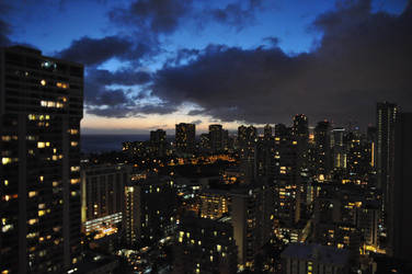 cloudier sunrise by michaelaiscool