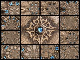 Jeweleeches Vivian Hebing: kaleidoscope by Jeweleeches