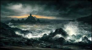 Crashing Waves by andreasrocha